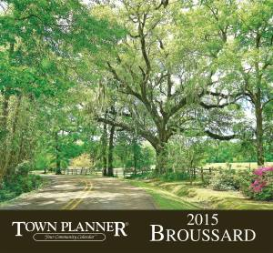 Lafayette Town Planner Calendar Cover for Broussard, LA - Photo by Kevin Ste Marie